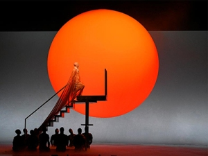 Akhnaten ascends the stairway to heaven